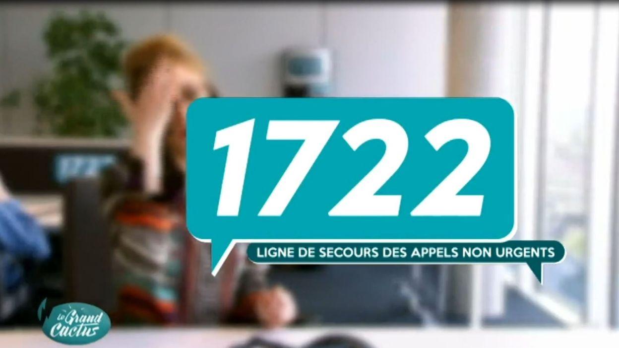 1722, le numéro des appels