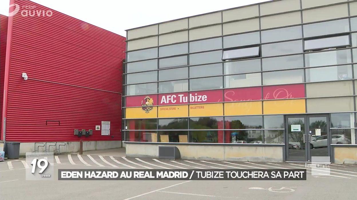 Eden Hazard au Real Madrid : une bonne affaire pour l'AFC Tubize