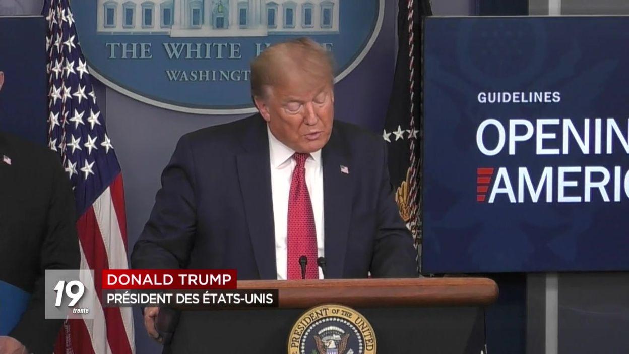 États-Unis : le plan de Trump pour relancer l'économie américaine