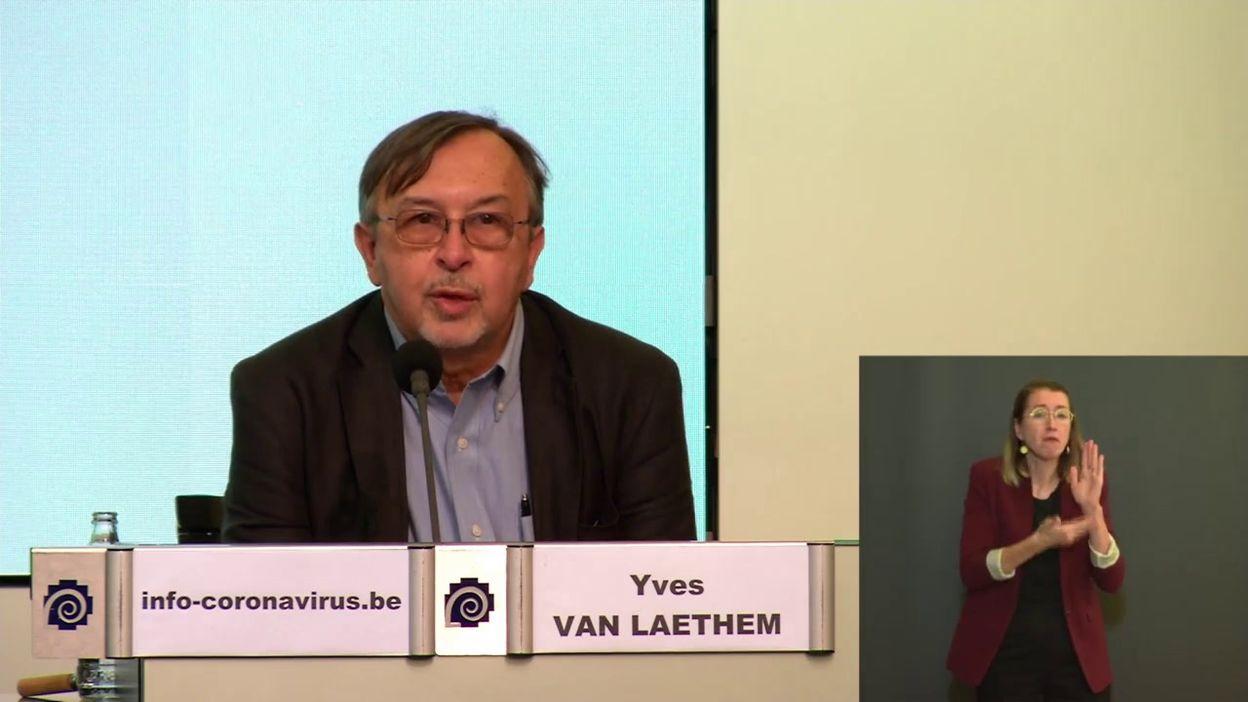 Point presse coronavirus 9/9: le point sur l'épidémie (Y. Van Laethem)