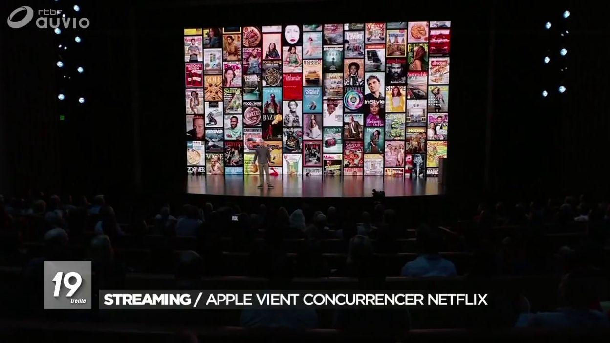 Plateformes de streaming : AppleTV vient concurrencer Netflix