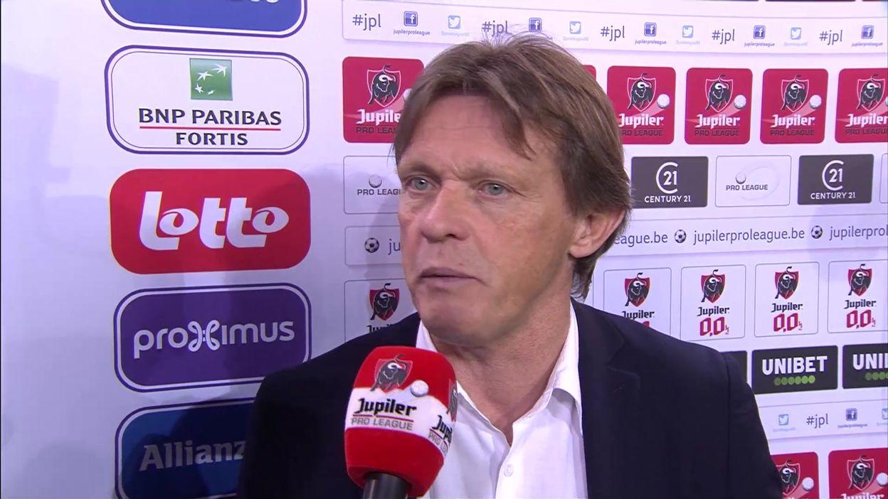 24 novembre : ITW Frankie Vercauteren après Anderlecht-Courtrai