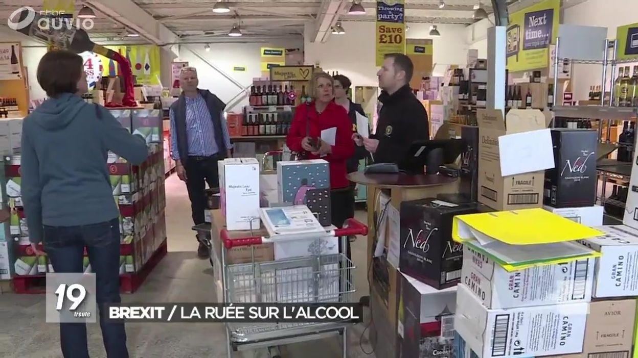 Brexit : les Britanniques se ruent sur l'alcool à Calais