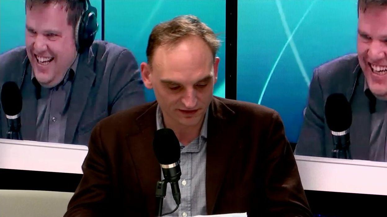 C'est Presque Sérieux: Edgar Szoc : Le burn-out de Bertrand Henne