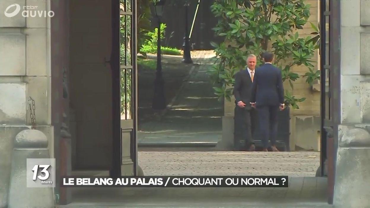 Le Vlaams Belang reçu au Palais : choquant ou normal ?