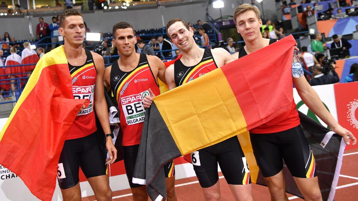 Belgian Tornados - Belgrade 2017 : Médaille d'argent