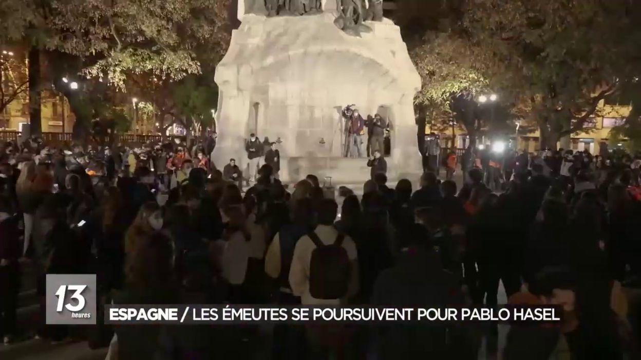 Nouvelles soirée d émeutes en Espagne