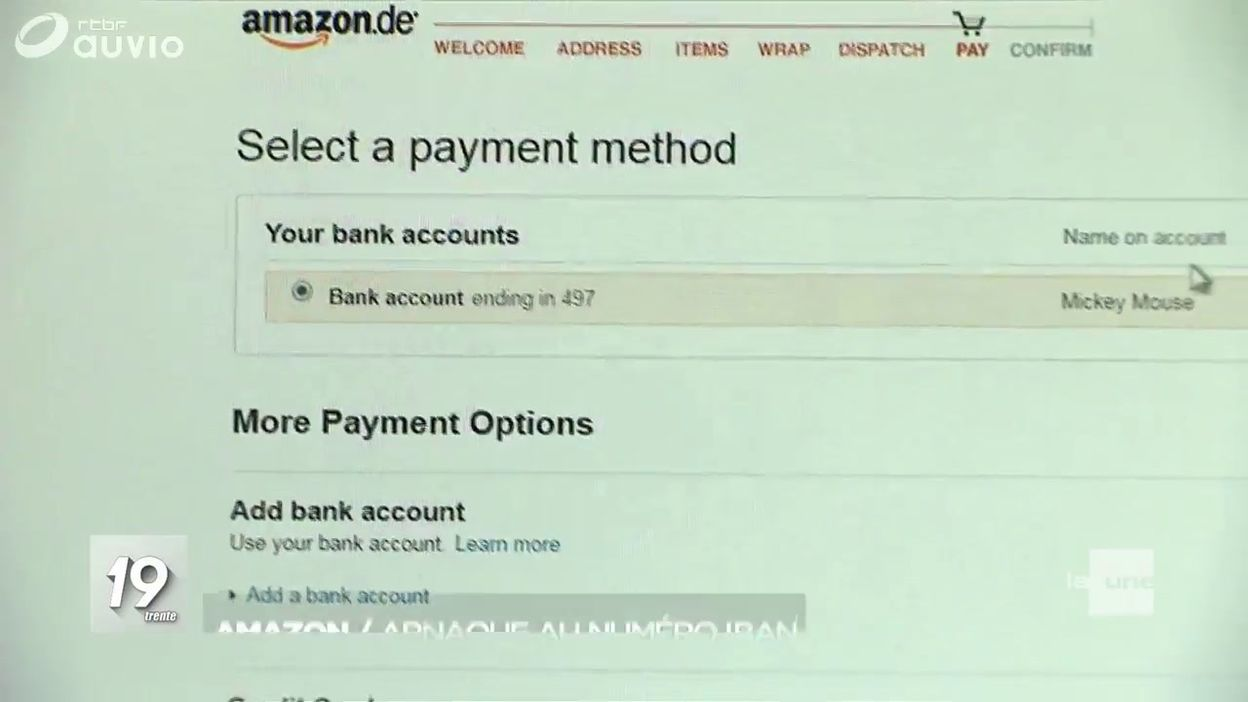 Amazon Frauder Grâce Au Numéro Iban Jt 13h 22 05 2019