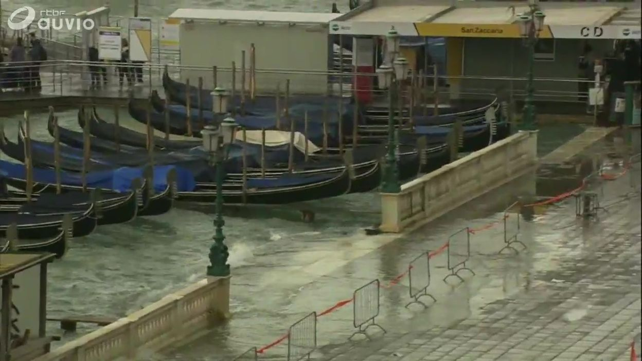 La Cité des Doges est en proie à des pluies diluviennes