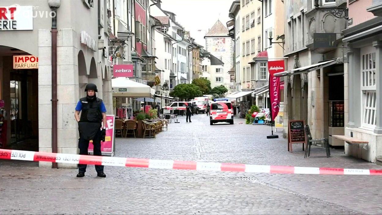 Suisse: plusieurs personnes blessées par un homme armé d'une tronçonneuse