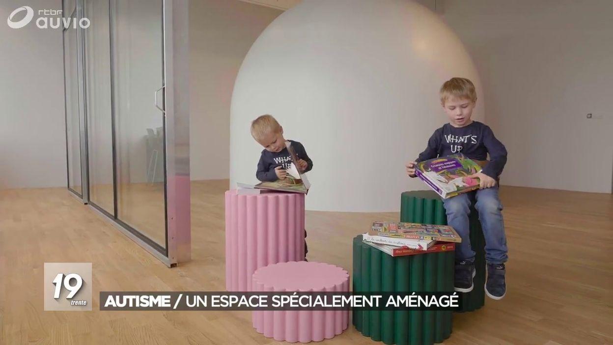 Autisme : un espace spécialement aménagé