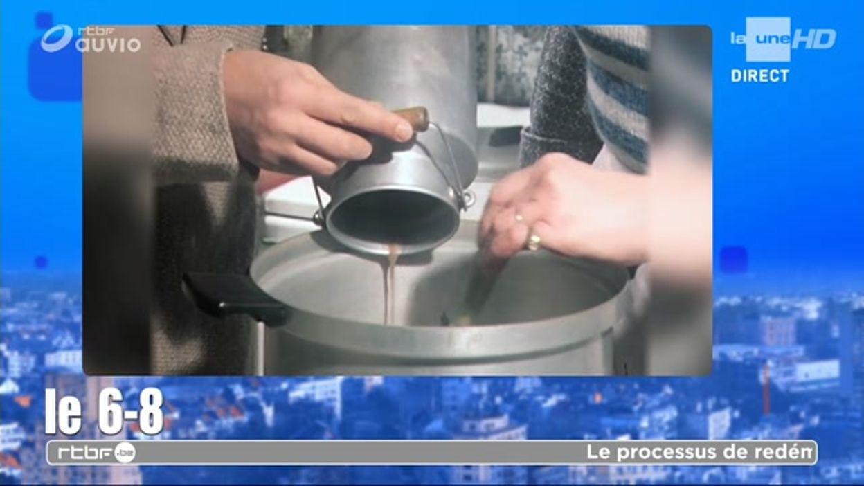 Mmh Guillaume nous fait la recette de la soupe au boudin noir