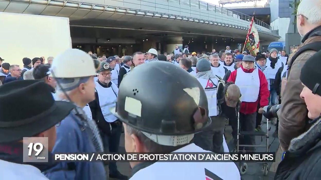 Pension : action de protestation d'anciens mineurs