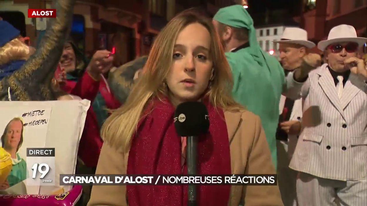 Carnaval d'Alost : de nombreuses réactions