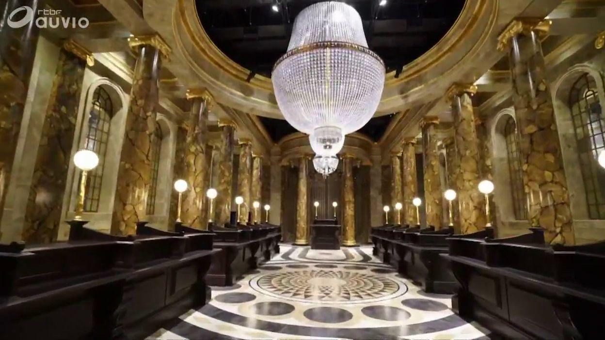 La banque Gringotts, le nouveau décor visible aux studios Harry Potter