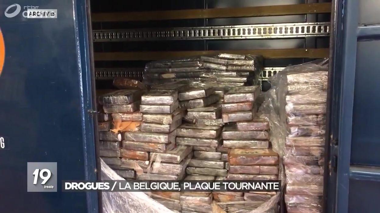 Trafic de drogues : la Belgique est une plaque tournante - JT 19h30 -  26/11/2019