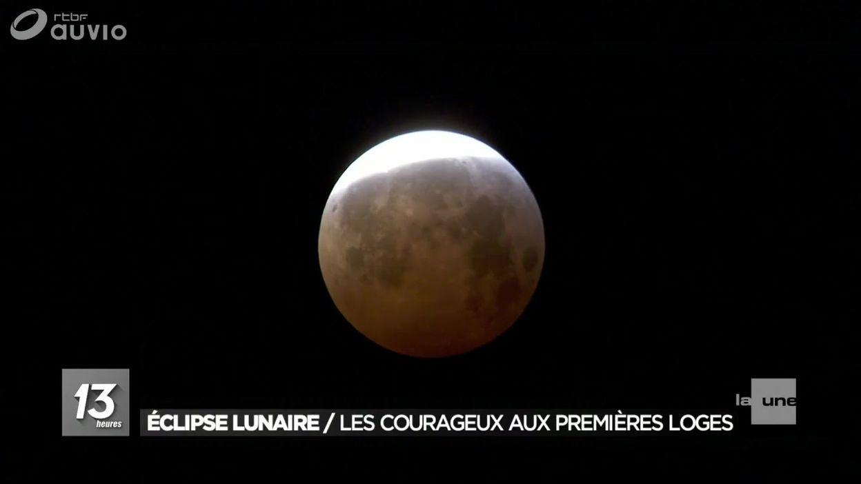 Rouge de confusion : la Lune s'éclipse