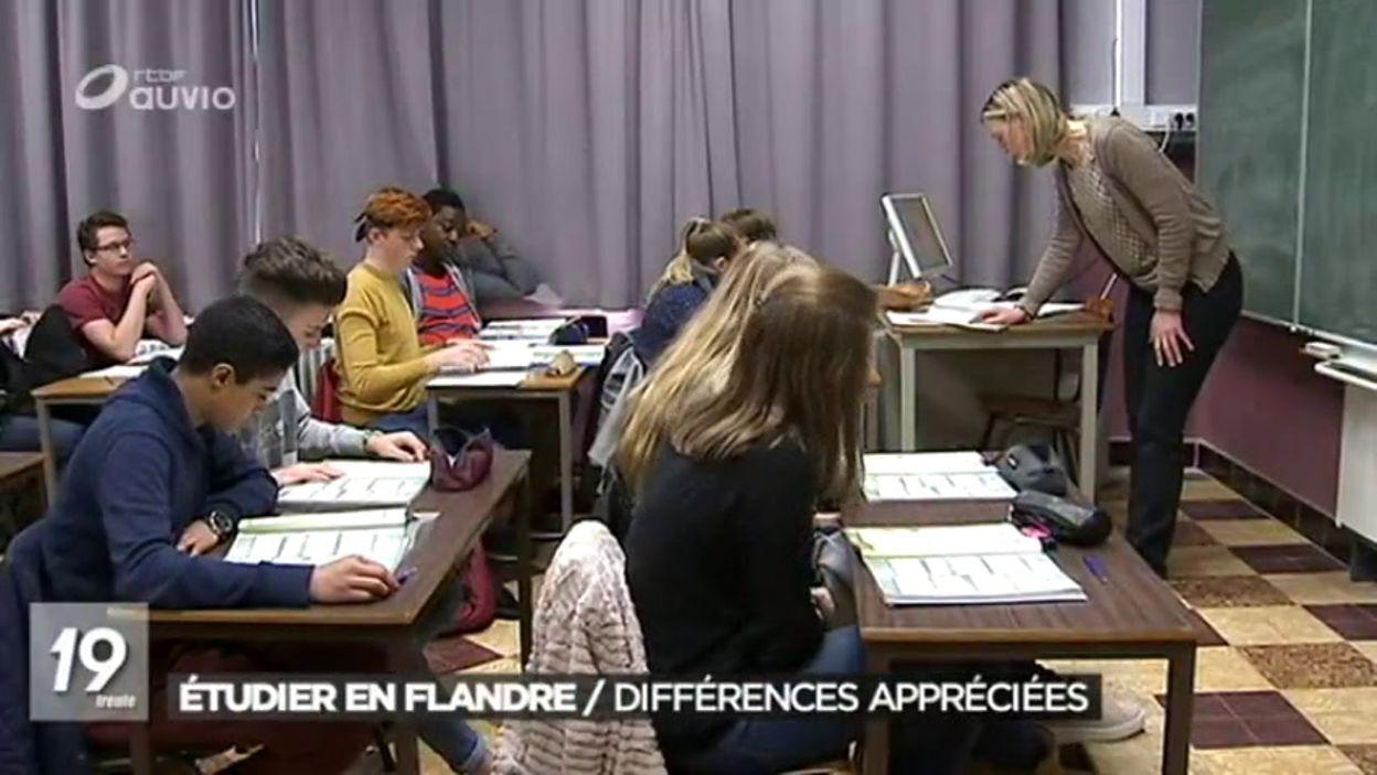 Les francophones qui vont étudier en Flandre