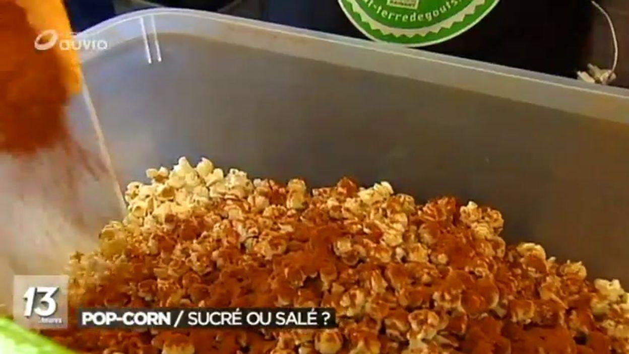 Charleroi : du pop-corn aromatisé et coloré