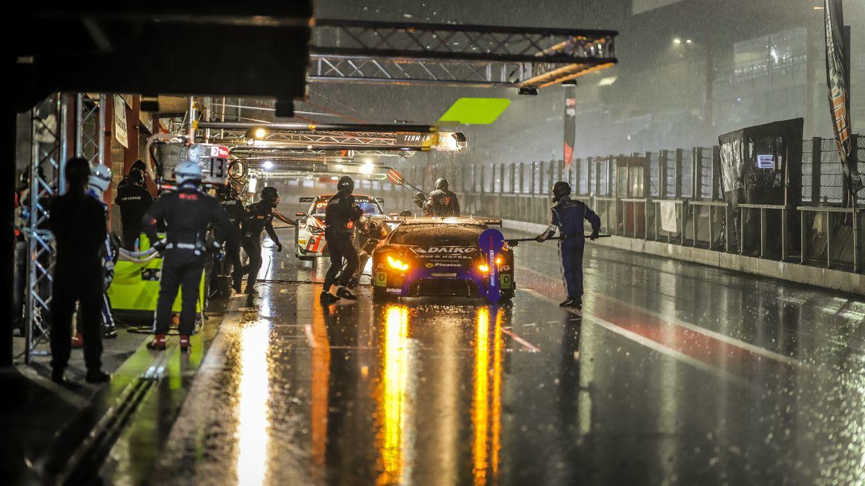 Les 24 Heures de Spa-Francorchamps interrompues par la pluie