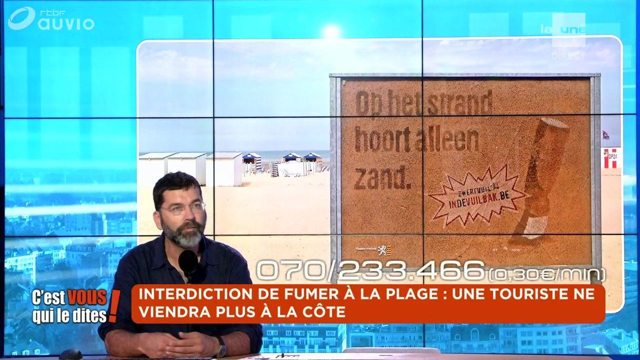 Interdiction de fumer à la plage : une touriste ne viendra plus à la Côte