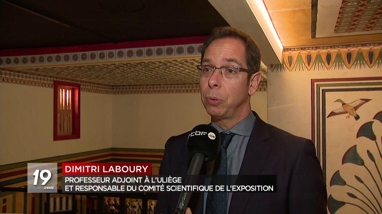 Ouverture de l Expo Toutankhamon à Liège