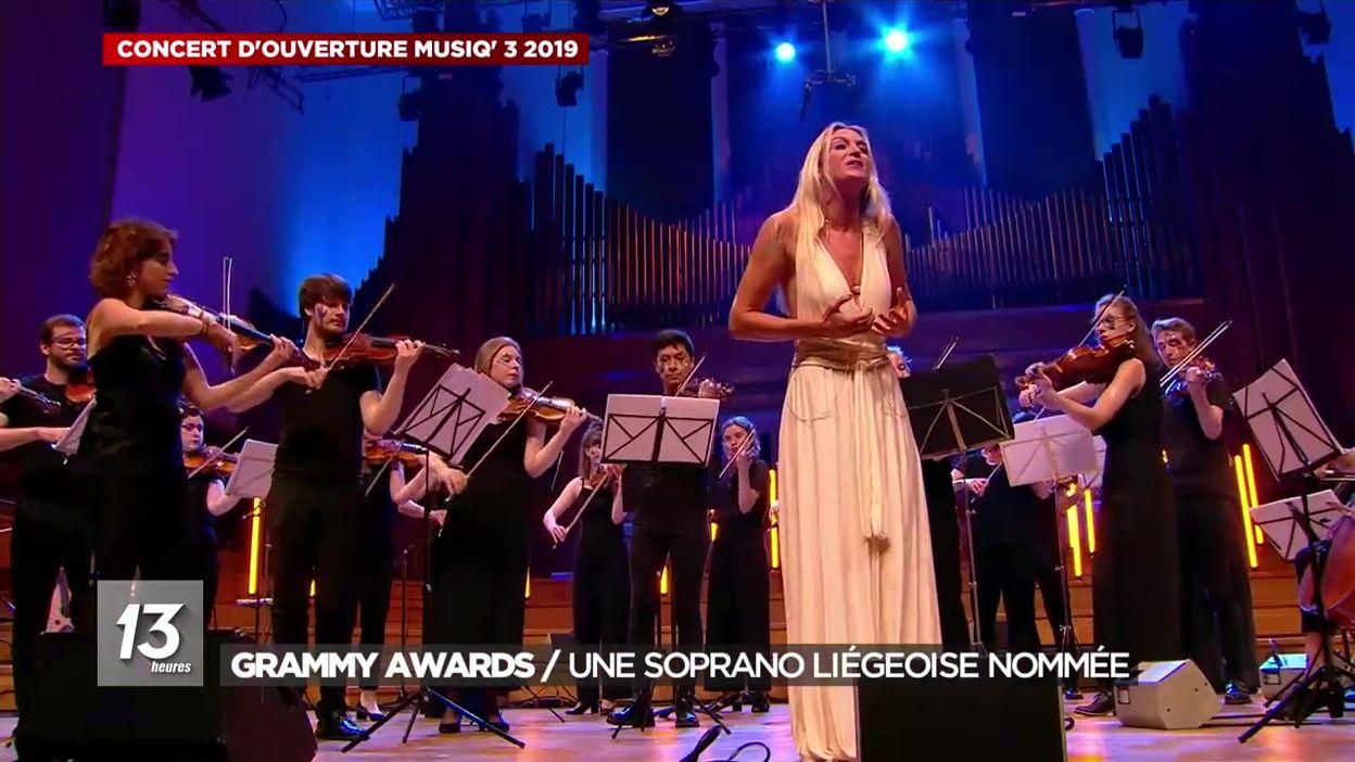 Une soprano liégeoise nommée aux Grammy Awards