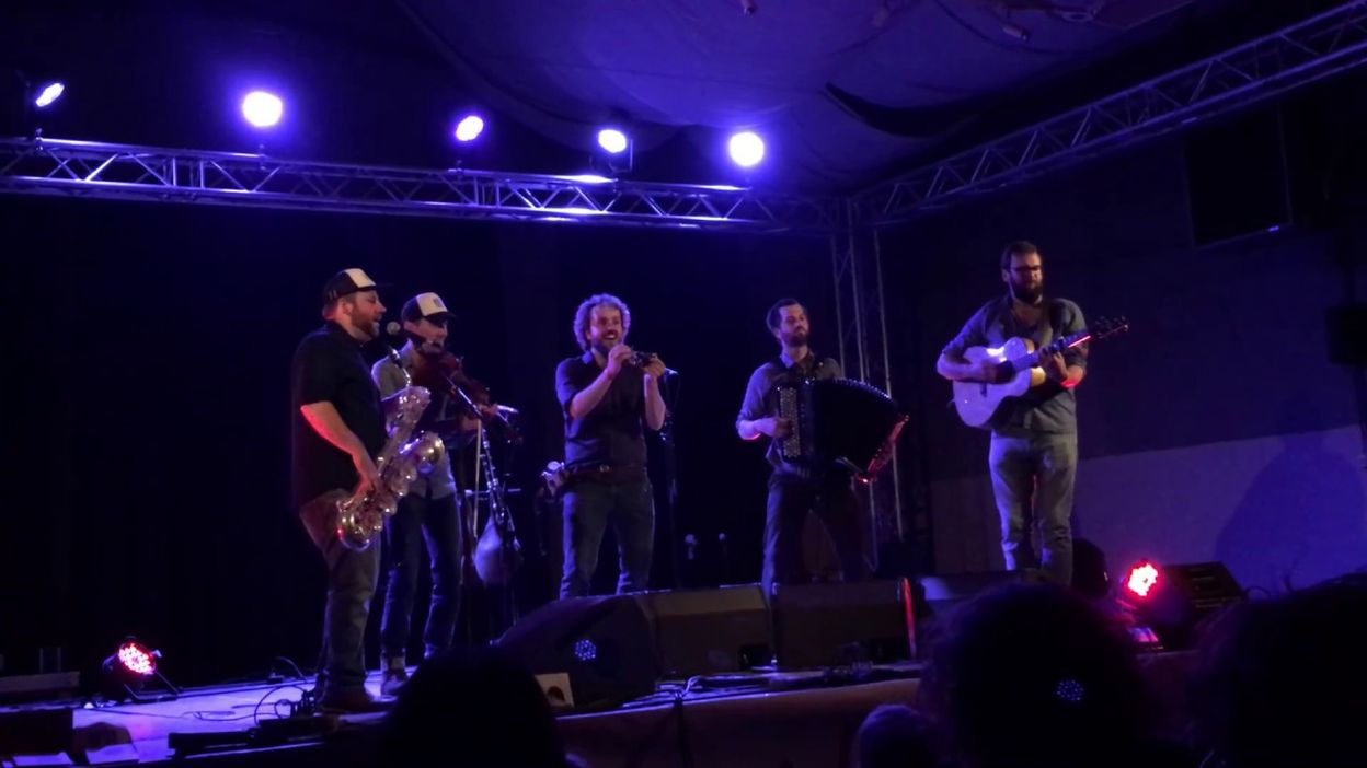 WÖR - live at Folk Festival de Marsinne 2017
