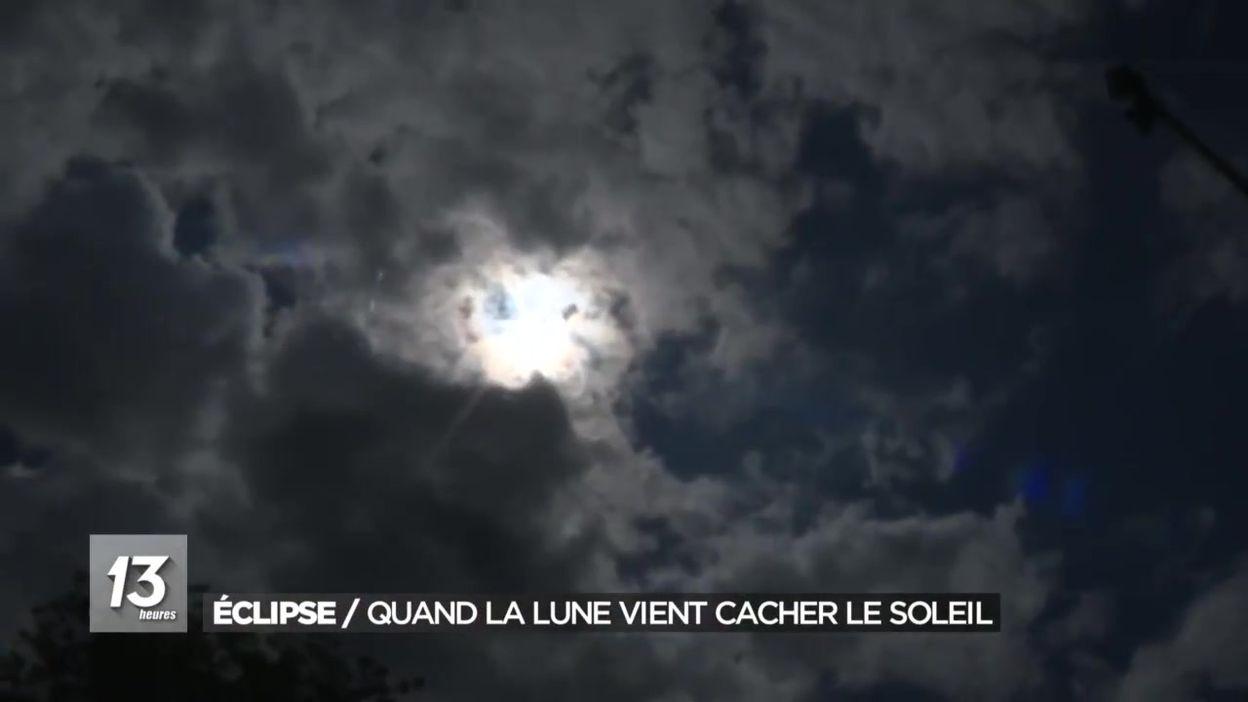 Éclipse : quand la lune vient cacher le soleil