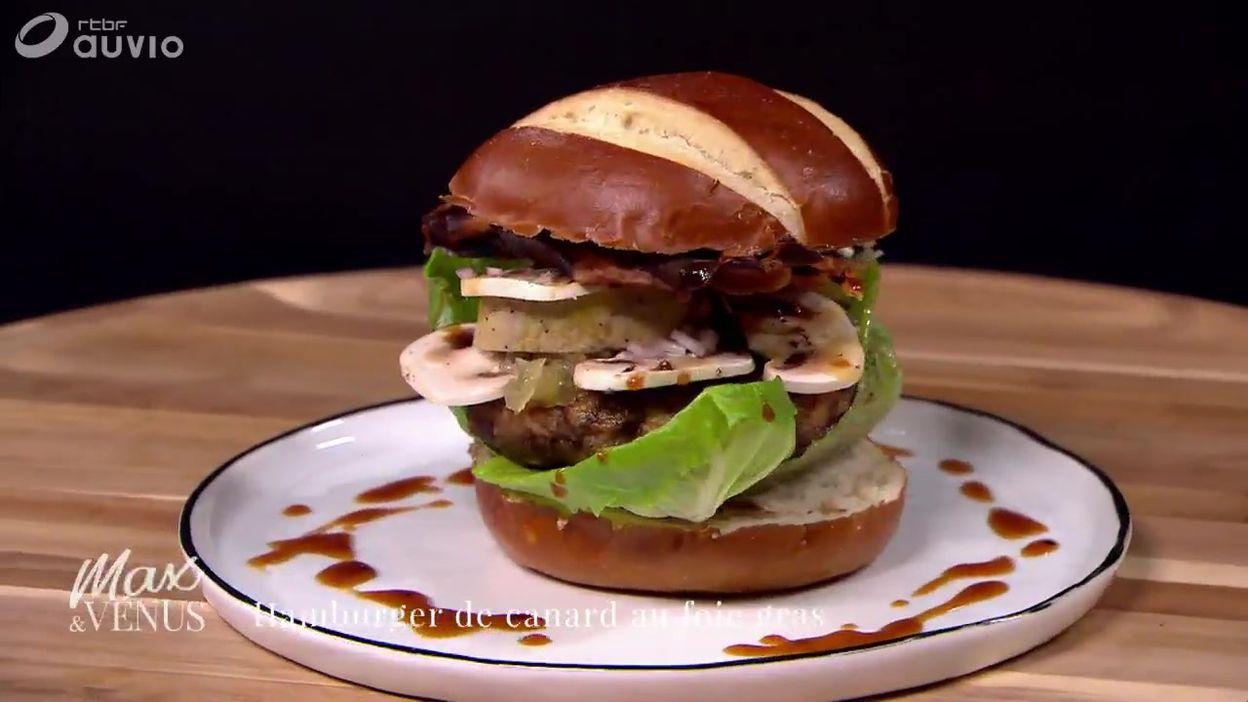 TUTO : hamburger de canard au foie gras