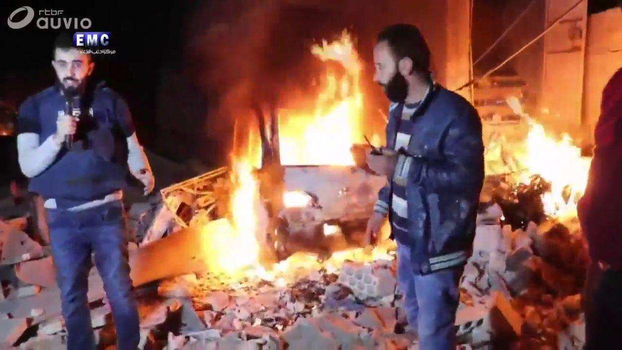 Bombardements du régime en Syrie: des civils souffrent d'asphyxie, 10 morts