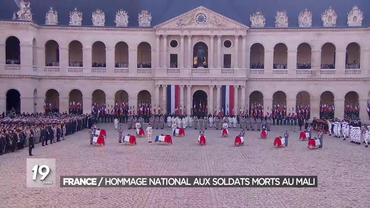 La France en deuil : hommage national aux 13 soldats morts au Mali