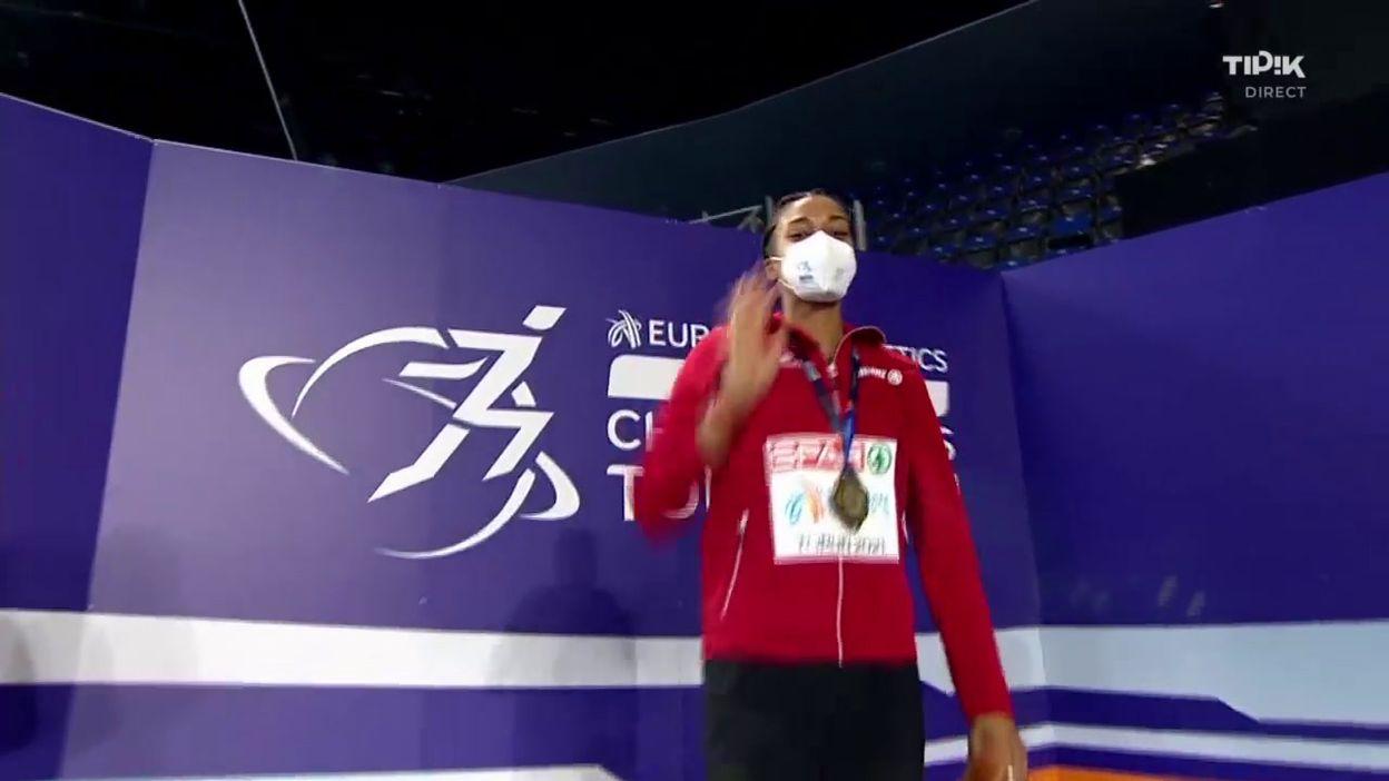 La Brabançonne de Nafi Thiam et Noor Vidts, revivez le podium du pentathlon