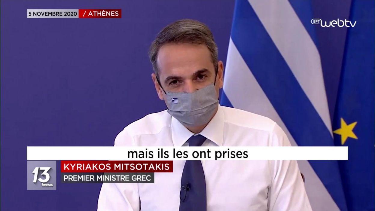 La Grèce se reconfine totalement pour une durée de 3 semaines