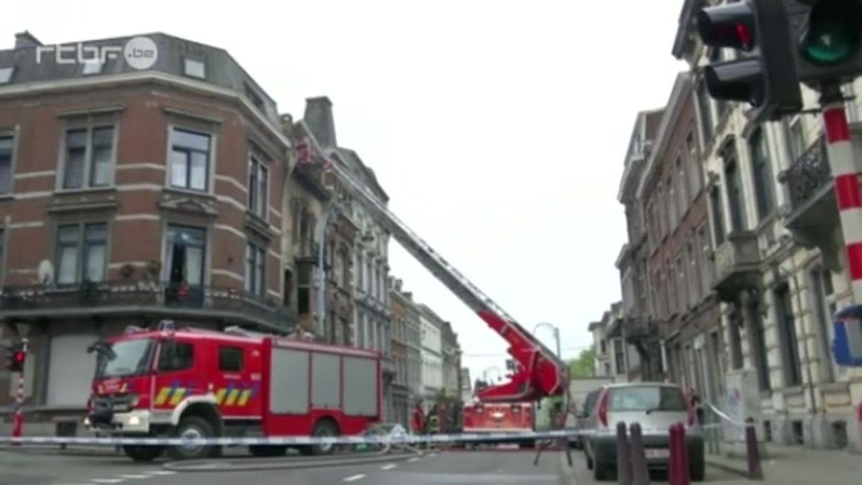 Terrible incendie à Verviers