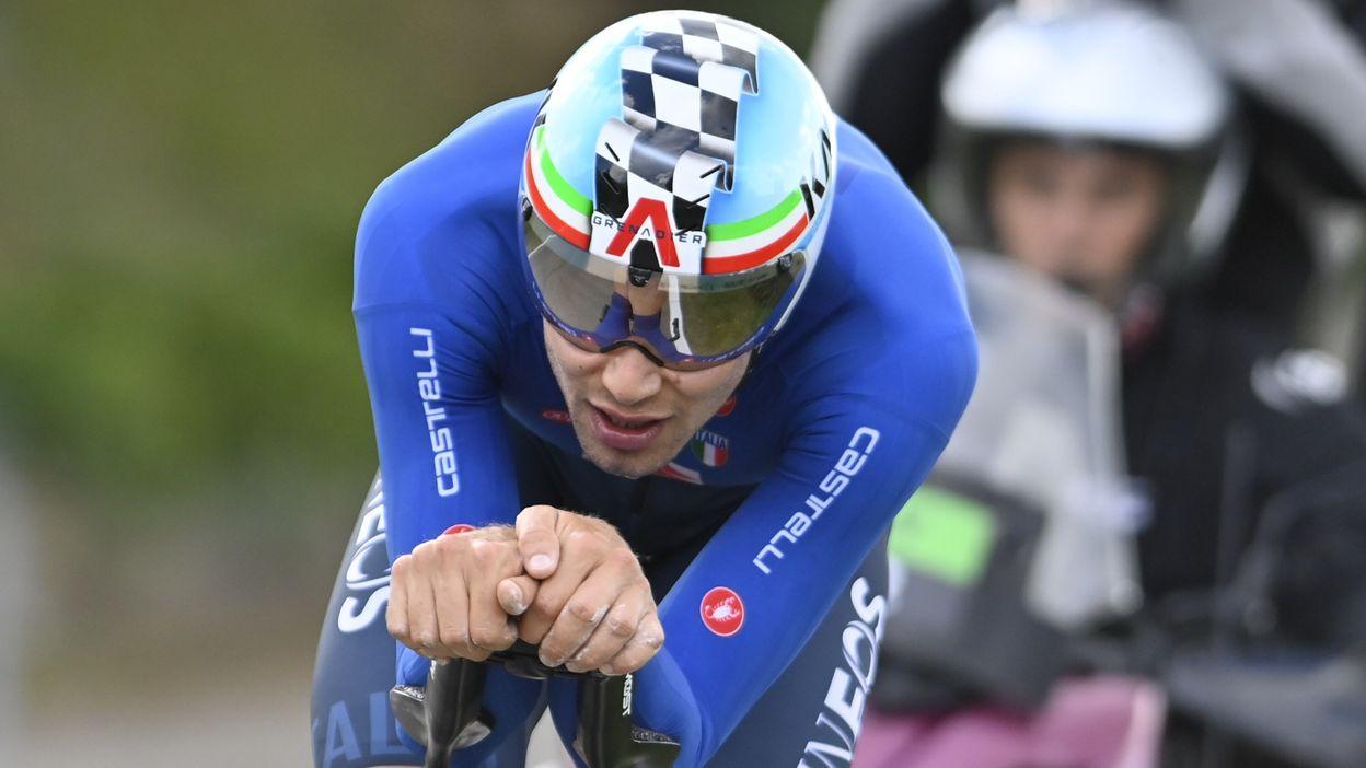 Wout Van Aert vice champion du monde derrière Filippo Ganna