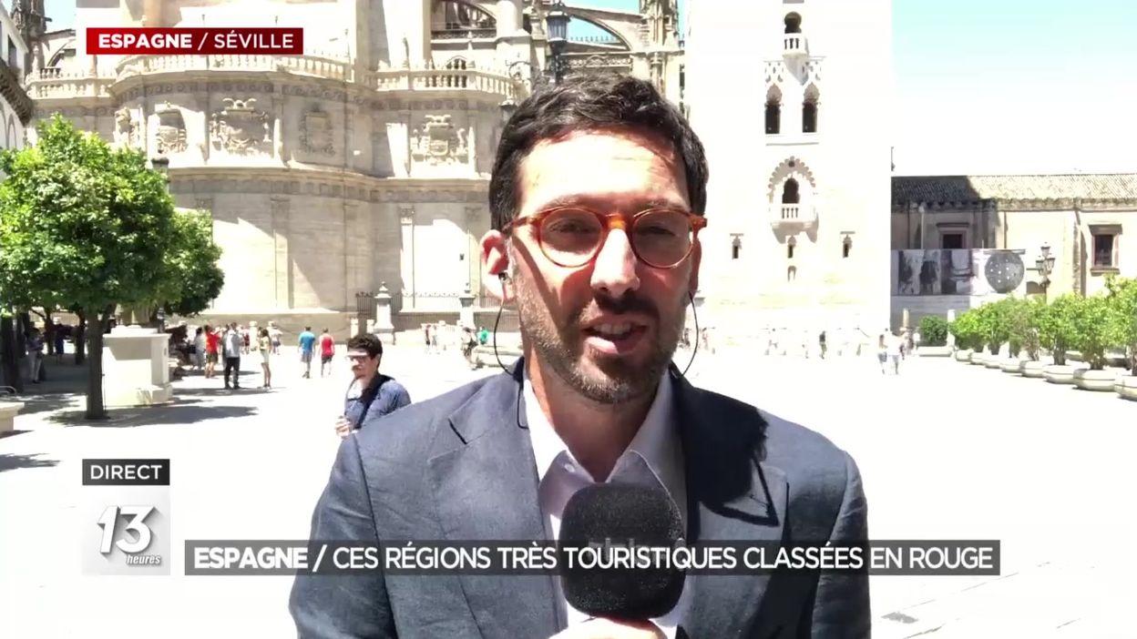 Espagne : ces régions très touristiques classées en rouge