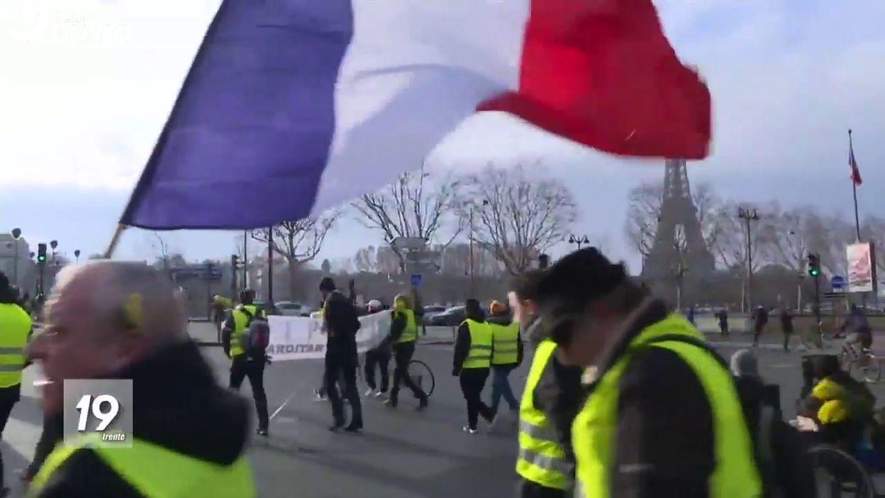Gilets jaunes à Paris : Acte 10 - Manifestation malgré le débat national