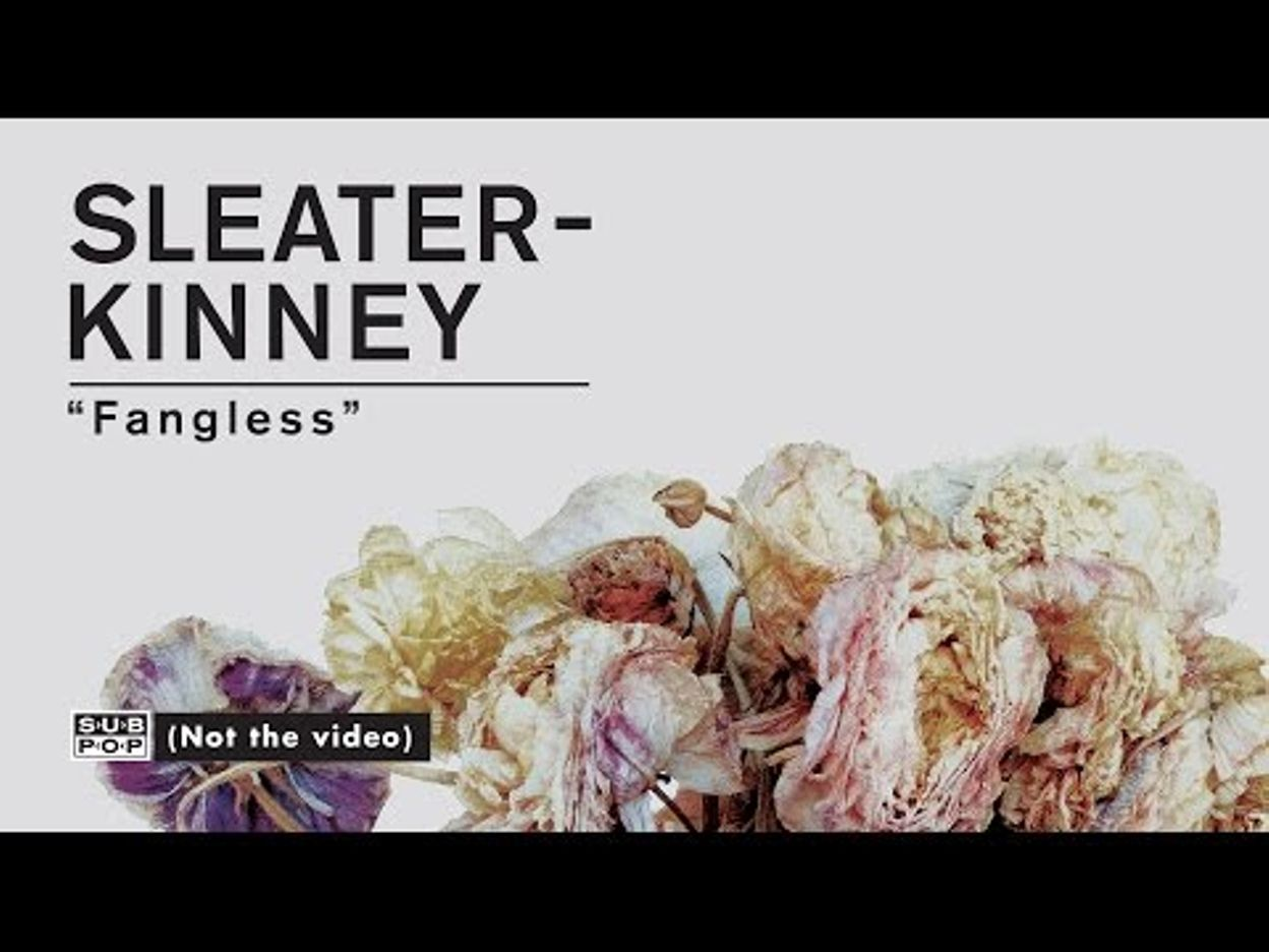 Sleater-Kinney - Fangless [FULL ALBUM STREAM of No Cities to Love: Track 2 of 10]