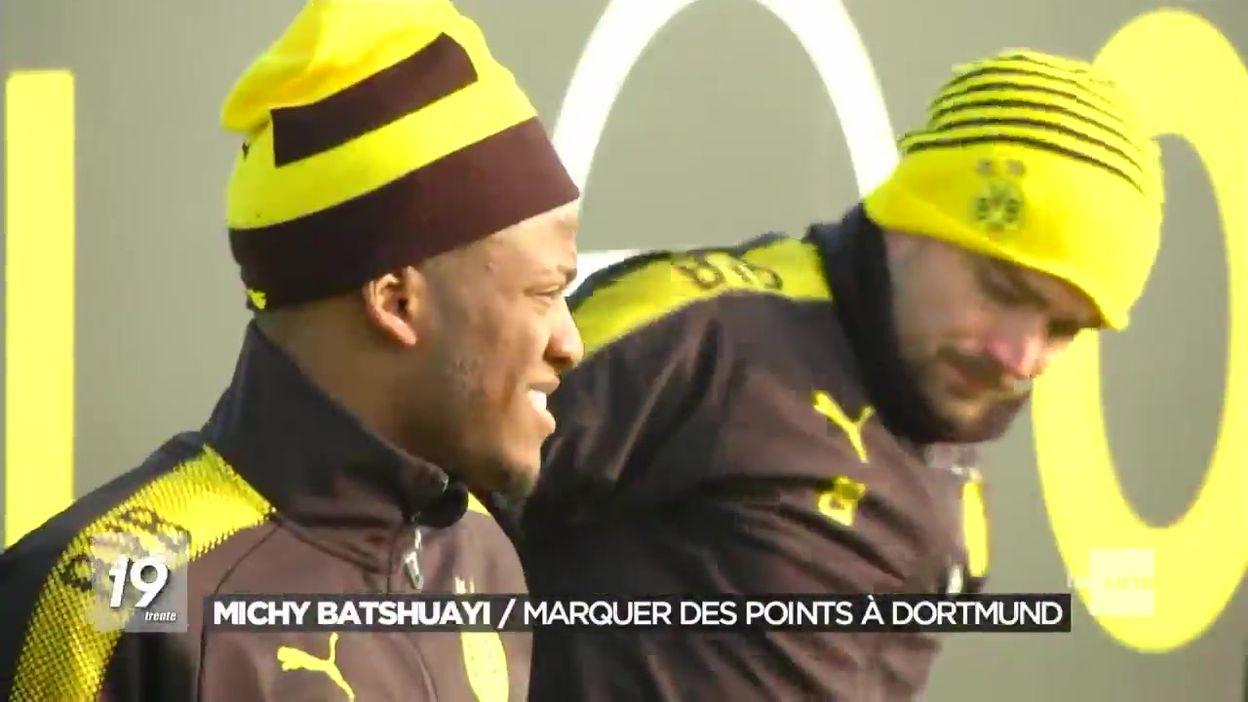 Michy Batshuayi rapidement adopté au Borussia Dortmund