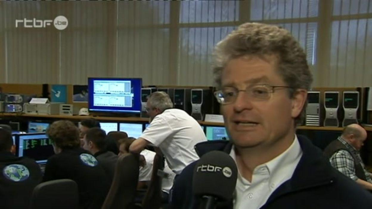 Lancement du satellite belge probaV