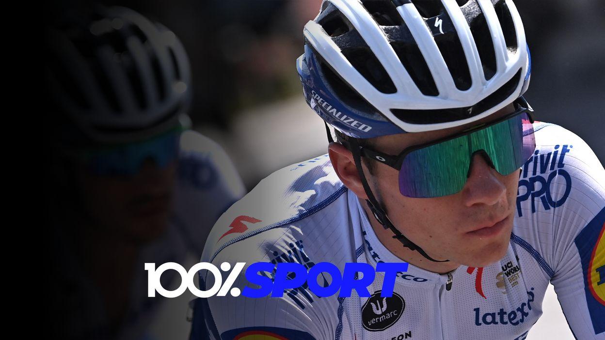 100% Sport: le Giro pour Remco sur la route des JO et Grosjean retrouve un volant