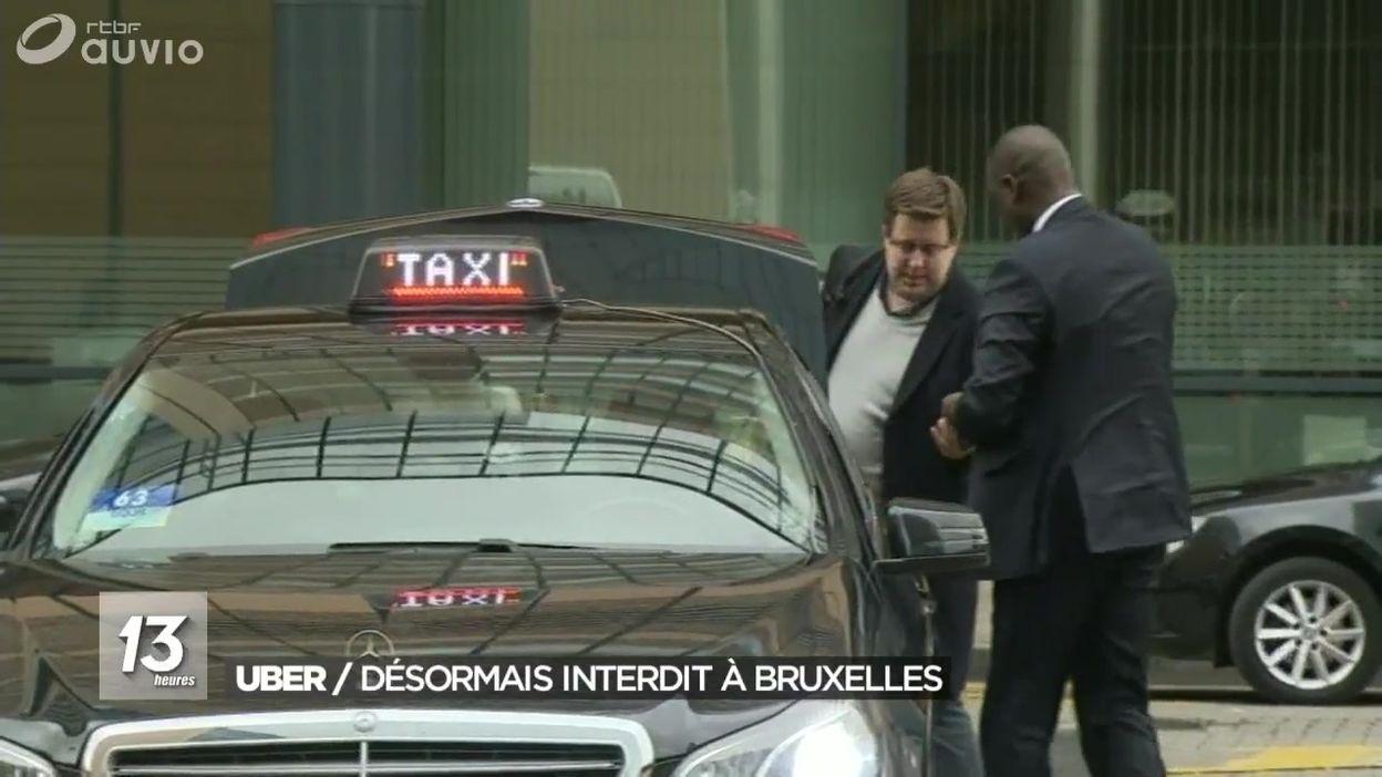 Le service de transports Uber est considéré comme illégal
