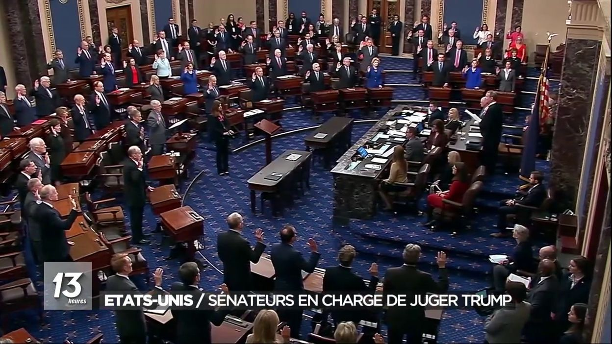 Etats-Unis : sénateurs en charge de juger Trump