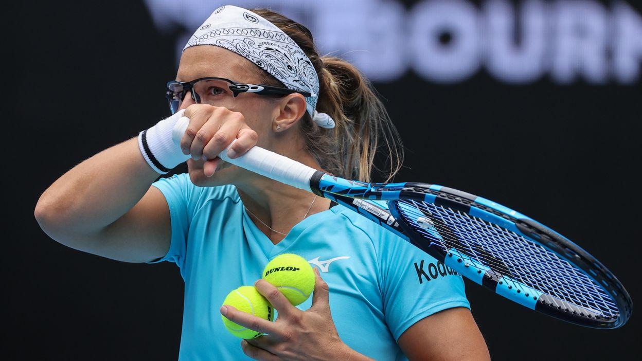 Open d'Australie : Kirsten Flipkens après sa défaite contre Venus Williams