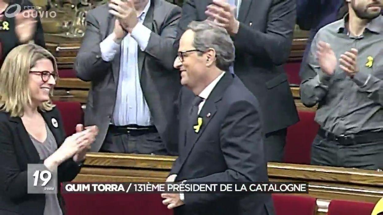 Quim Torra, 131ème Président de la Catalogne