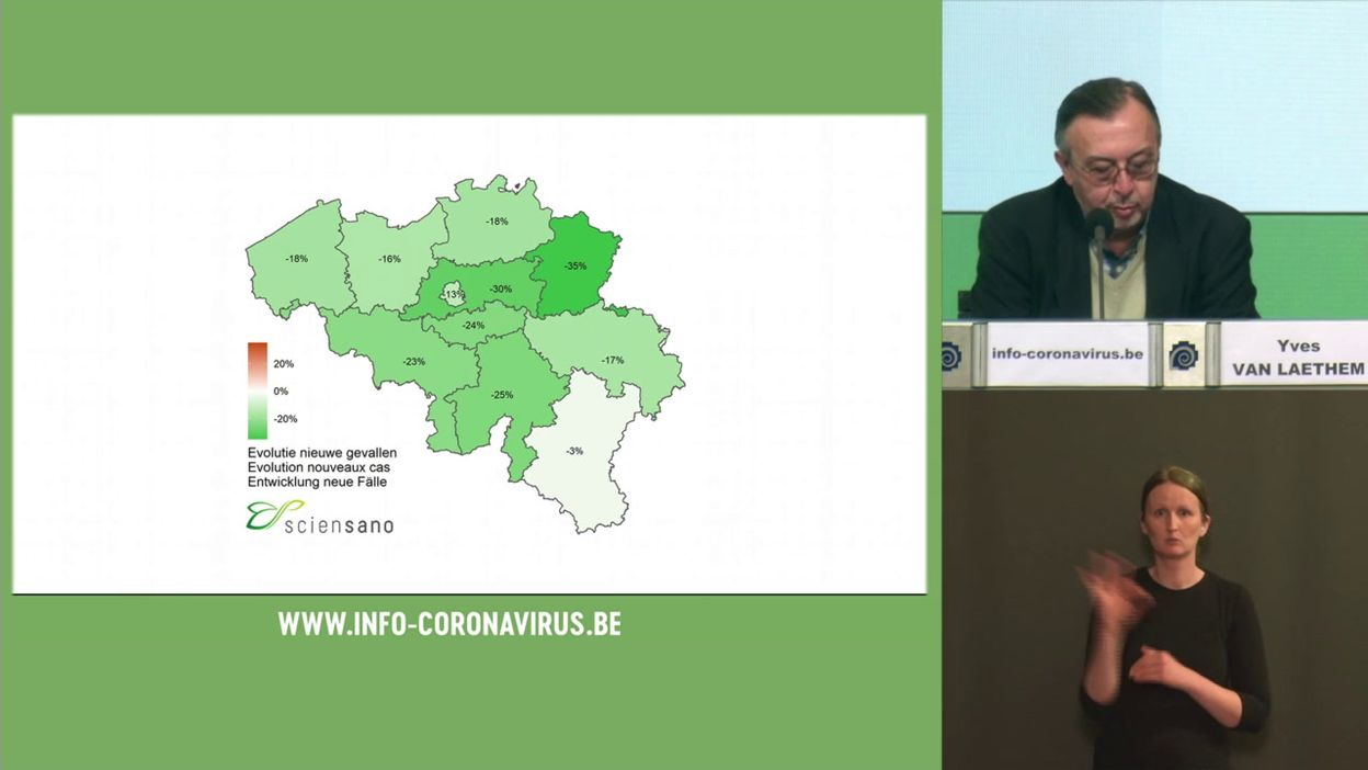 Coronavirus en Belgique : tous les indicateurs sont au vert