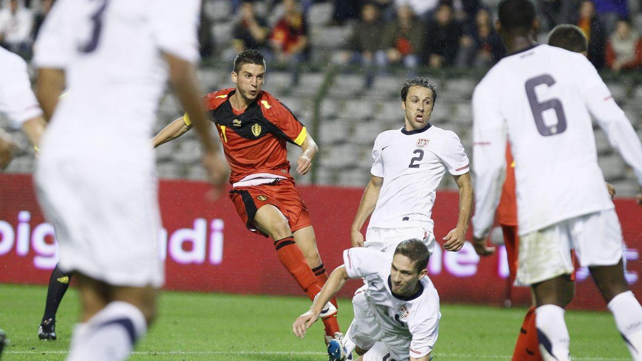 Belgique - USA : 06 septembre 2011 (1-0)