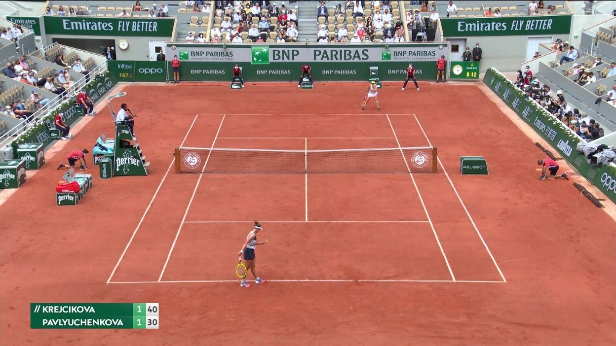 Barbora Krejcikova remporte Roland-Garros pour la toute première fois en battant Anastasia Pavlyuchenkova