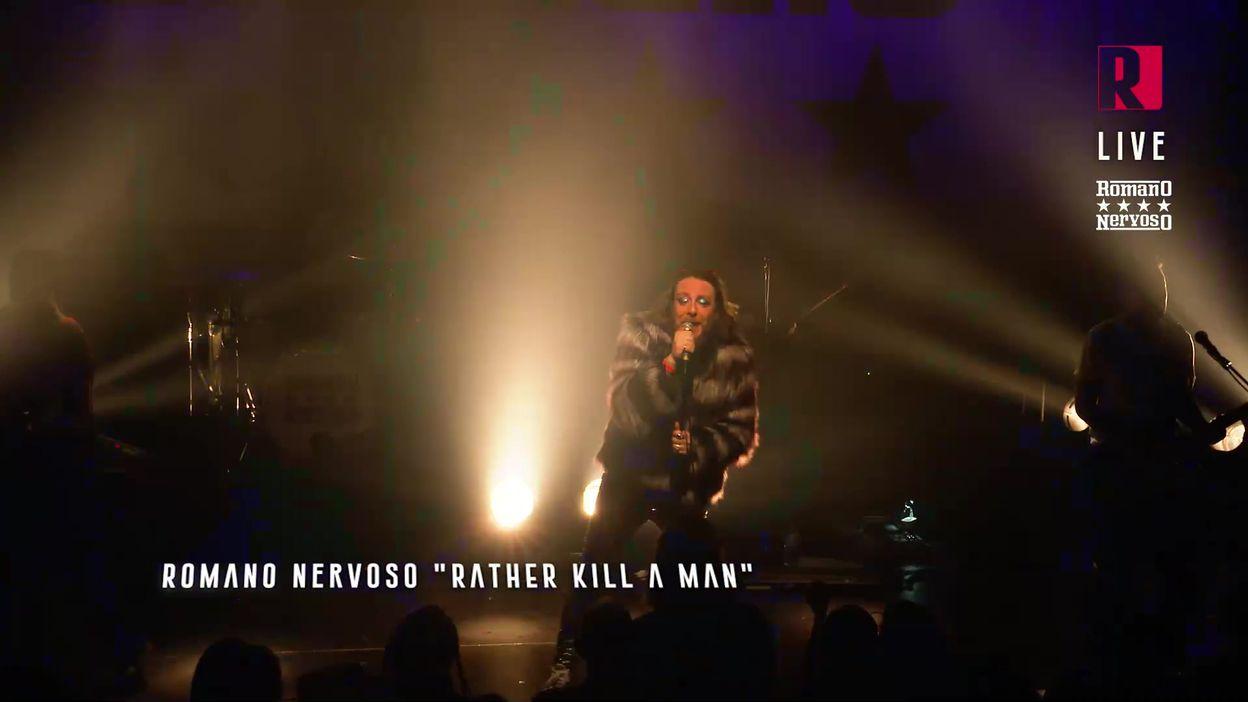 Rude #10 : Romano Nervoso live - Rather Kill A Man